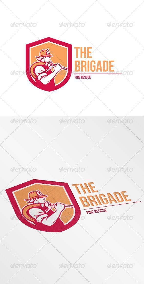 the brigade fire rescue logo pinterest logos logo templates and