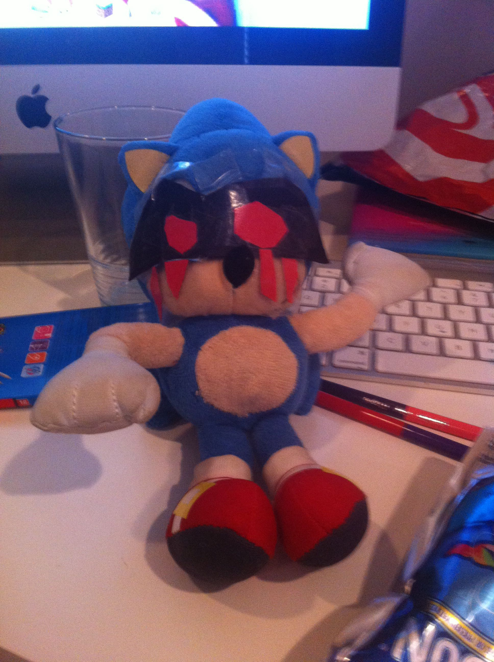 Anybody Who Ve Read The Sonic Exe Crept Pasta Will Get This Sonic Sonic The Hedgehog Cake Pops