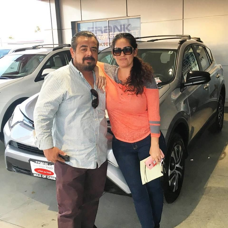 With the help of frank toyota sales consultant jose millan