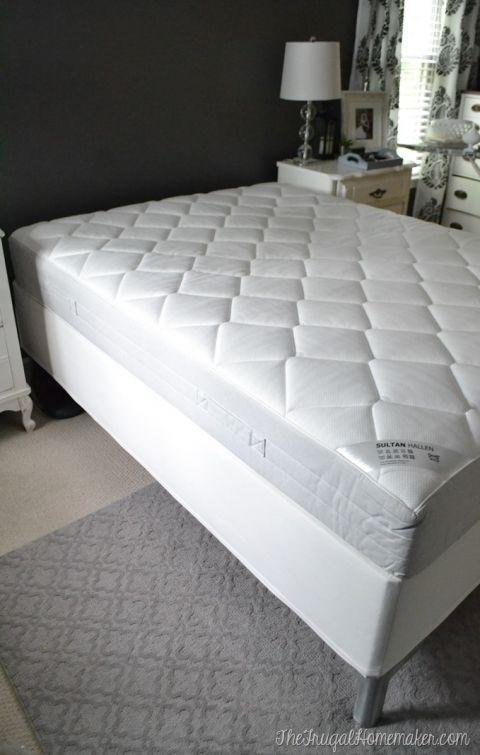 My thoughts on our IKEA mattress (Sultan Hallen IKEA mattress