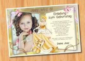 kindergeburtstag einladungskarten muster 55 - bild