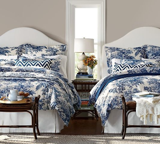 pottery barn s twilight blue matine tolie bedding is a 15122 | 15122ddc4b8df6ecef08b7f1ed8295eb