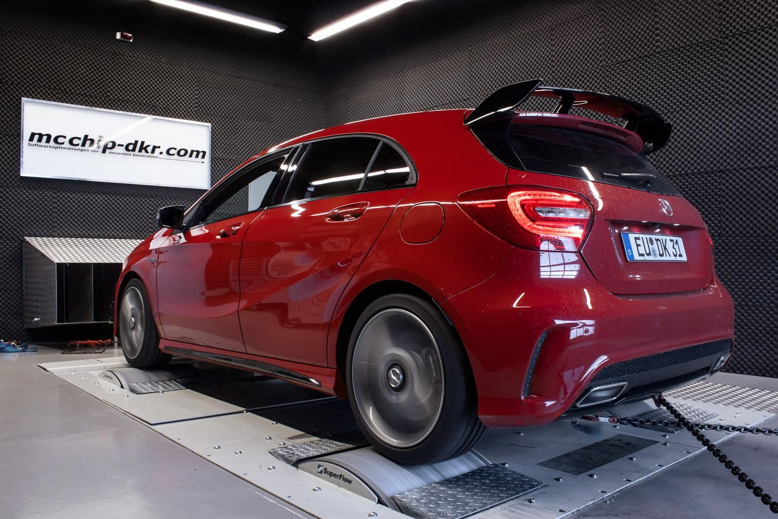 Mercedes benz a45 amg tuned by mcchip dkr