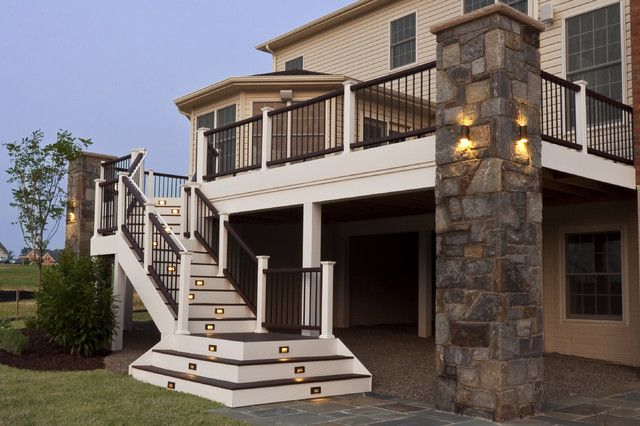 exterior stairs designs deck stairs stair design and decks on