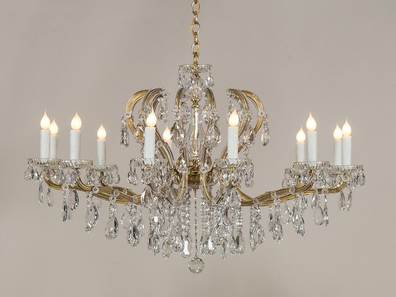 Maria theresa vintage austrian crystal chandelier circa 1940 maria theresa vintage austrian crystal chandelier circa 1940 vintage crystalchandelier aloadofball Image collections