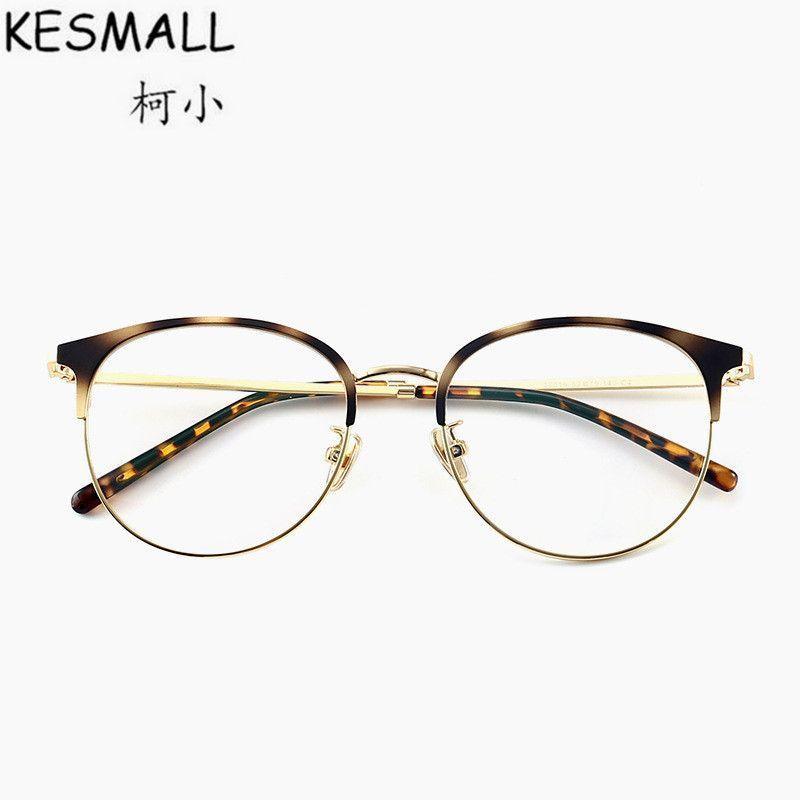 a1b808810c26 Fashion optical glasses frame women men vintage metal eyeglasses frames  clear lens female oculos de grau eyewear yj986  eyewear  accessories  frames   solid ...