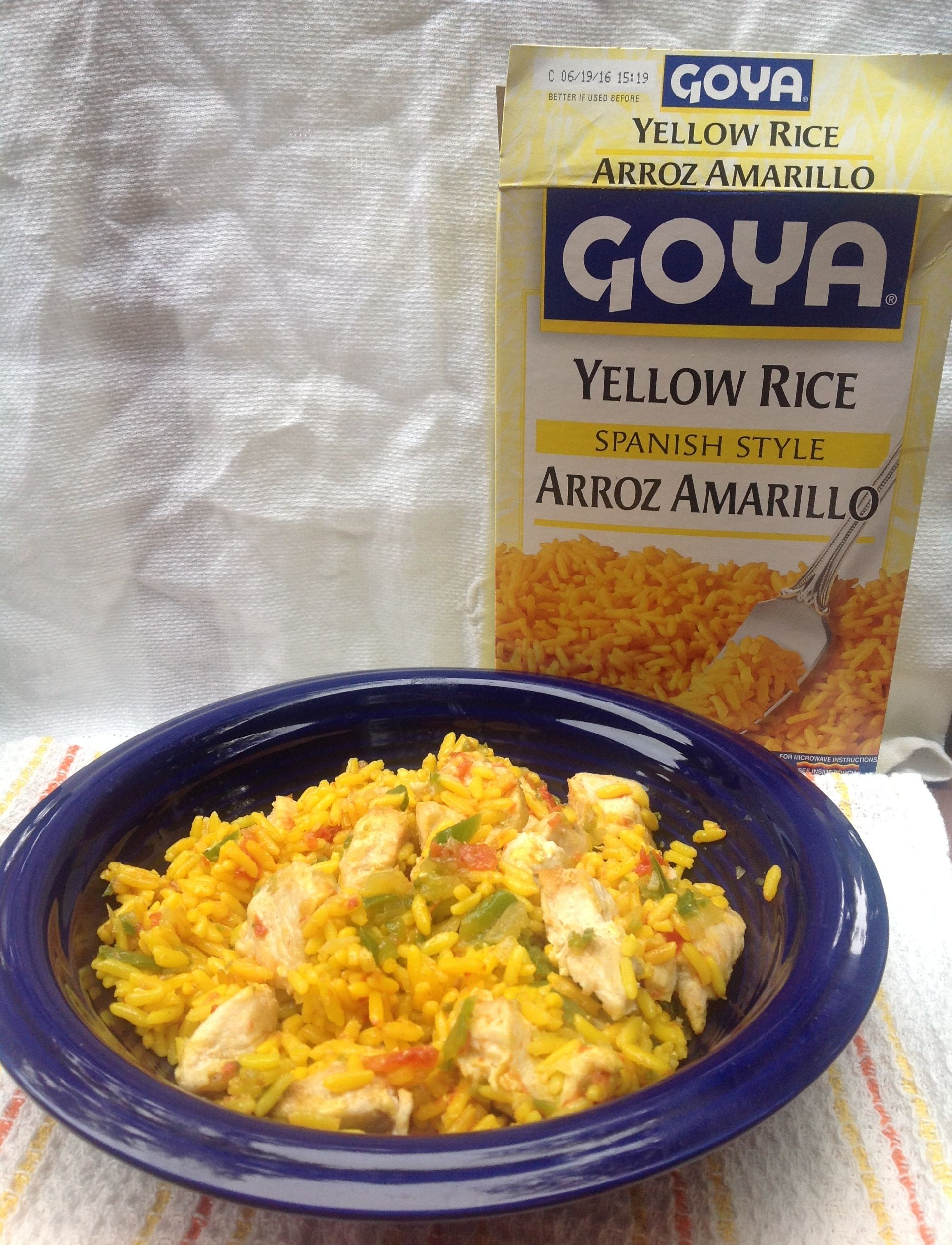 Need An Easy Weekday Dinner Try This Chicken And Yellow Rice Recipe