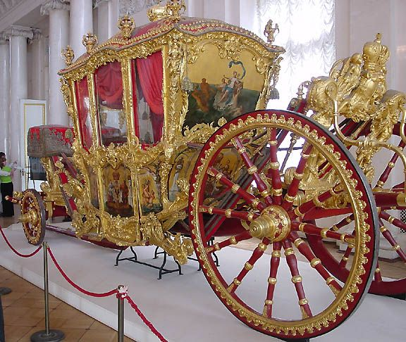 Hermitage/RoyalCarriage of Catherine the Great If you are traveling to Russia you will be needing a visa, we can help you http://www.visaandpassportagency.com