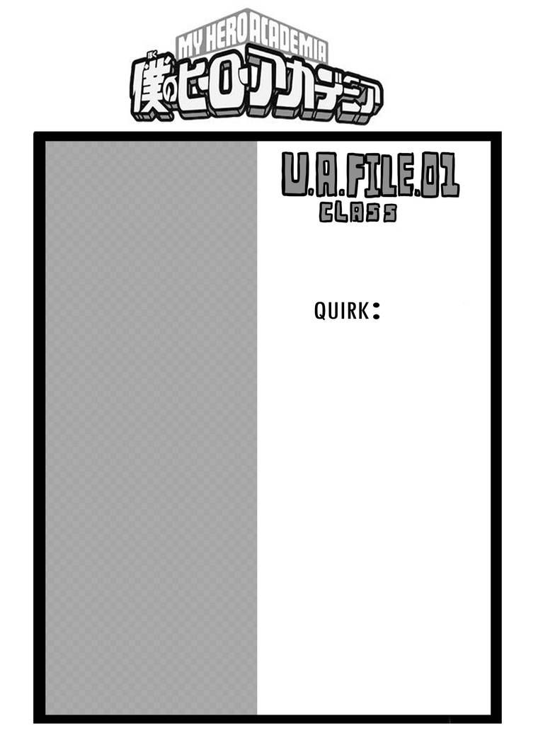 Bnha Template By Killyi On Deviantart With Images Oc Template
