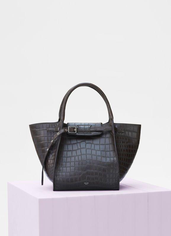 9cd322b26 Small Big bag in crocodile | CÉLINE | Fashion | Bags, Crocodile ...