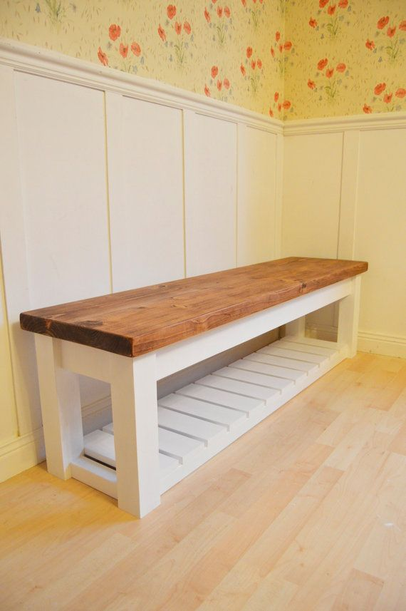Miraculous Chunky Hall Shoe Storage Bench Shoe Racks Uk By Ocoug Best Dining Table And Chair Ideas Images Ocougorg