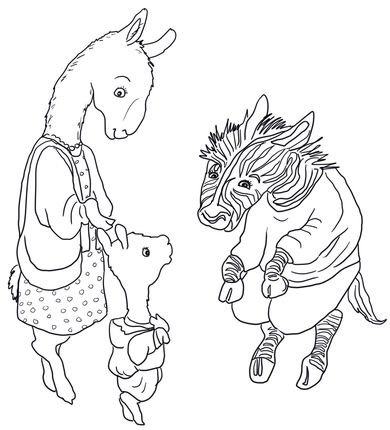 Llama Llama Meets the Teacher coloring page Coloring Pages