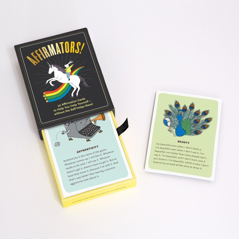 Affirmators!® 50 Affirmation Cards Deck Affirmation