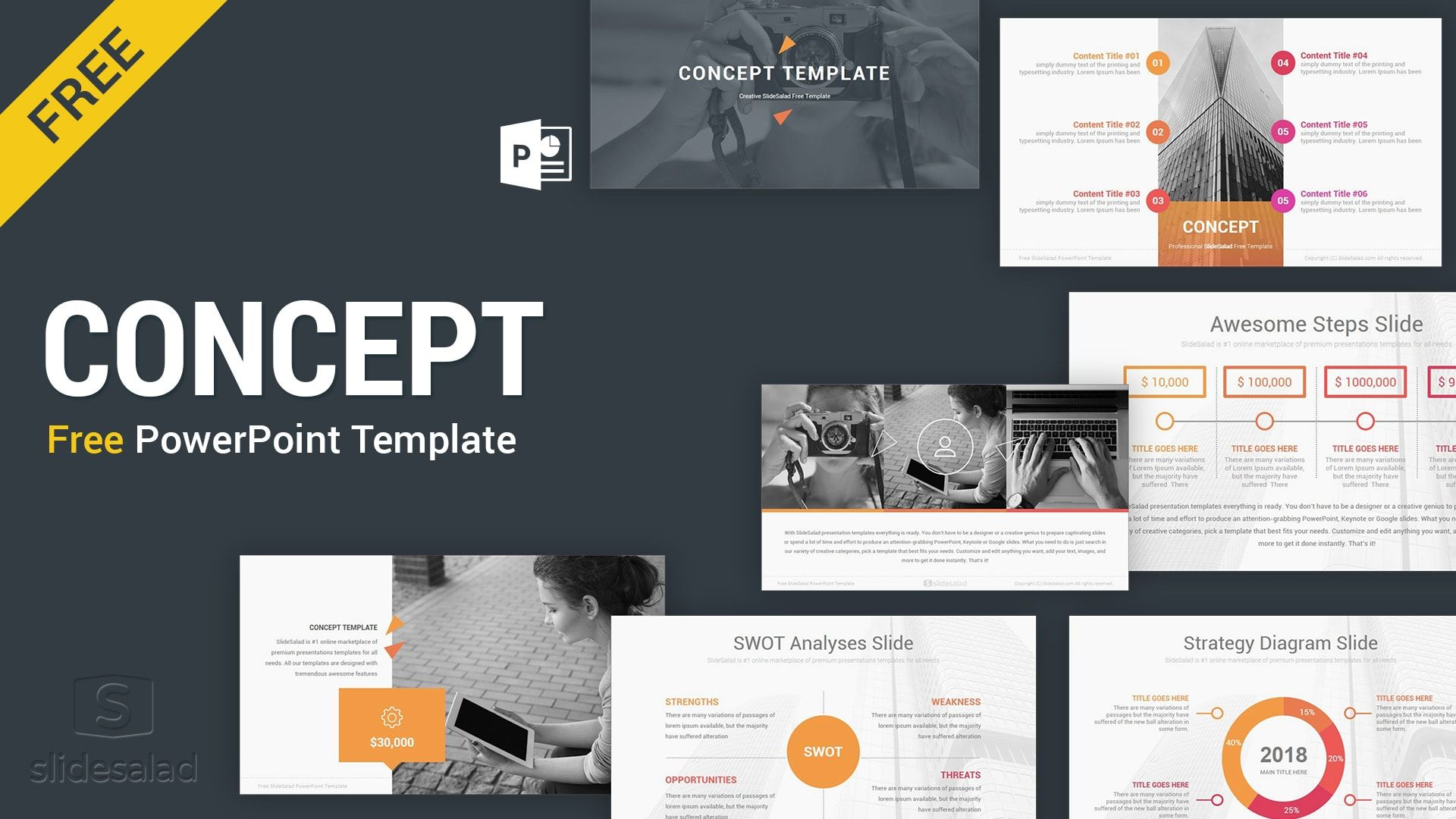 The Awesome Presentation Templates For Powerpoint Free Download Business Througho Powerpoint Free Free Powerpoint Presentations Business Presentation Templates Power point presentation template free