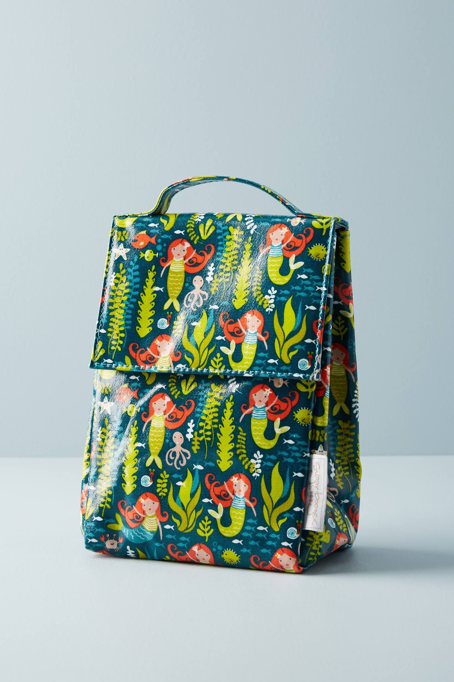 e874e0597812 Insulated Lunch Sack | Mermaid Life | Kids lunch bags, Insulated ...
