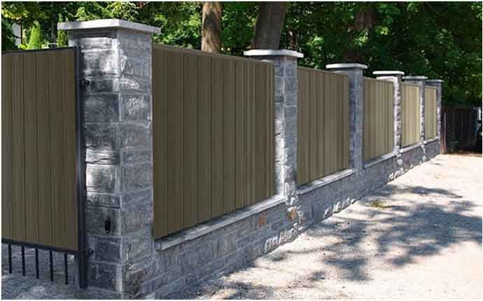 Dubai Artificial Fence Design With Images Fence Design Low
