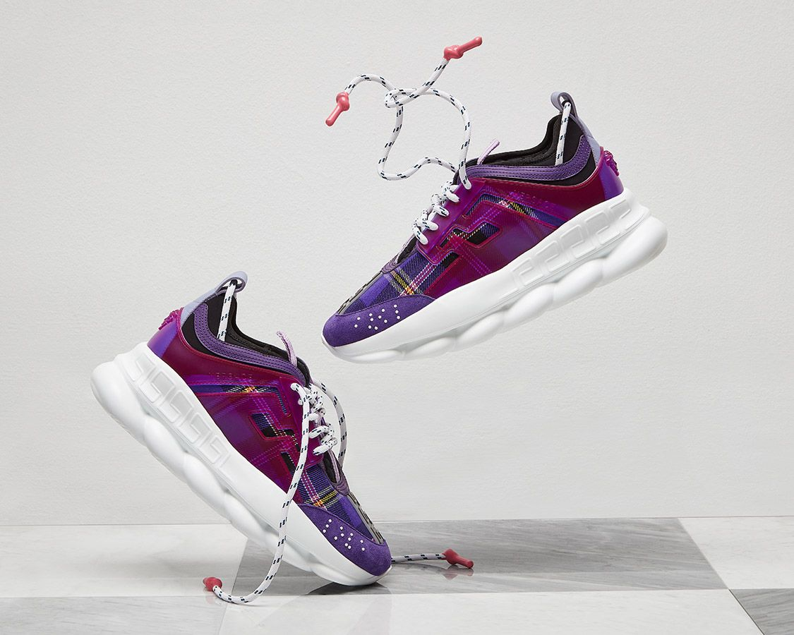 Versace Chain Reaction - Designer Sneakers for Men and Women ...