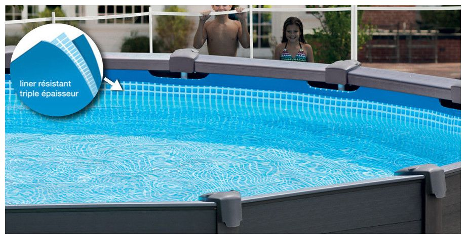 piscine hors sol intex graphite