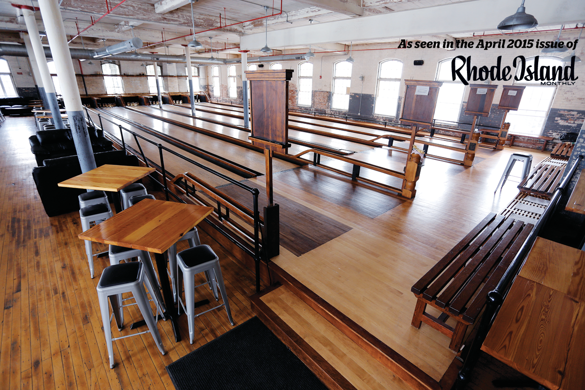 An Original 1920s Duckpin Bowling Alley Has Been Revived Inside Pawtucket S Hope Artiste Village Maintaining Much Of The Historic Home Sweet Home Rhode Island