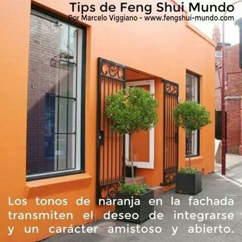 Feng Shui El Naranja En El Exterior Pinturas Para Exteriores De