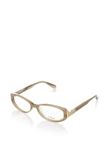 60% OFF Chloé Women\'s CL117403 Eyeglasses, Beige Brown