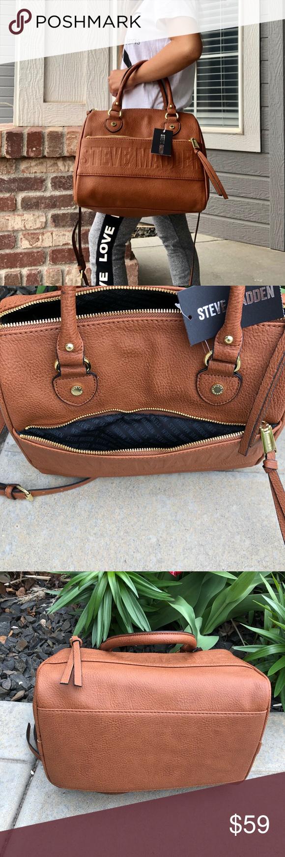69a47a5df54 Steve Madden Cognac Bdex Handbag , Purse Brand new with tag Steve ...