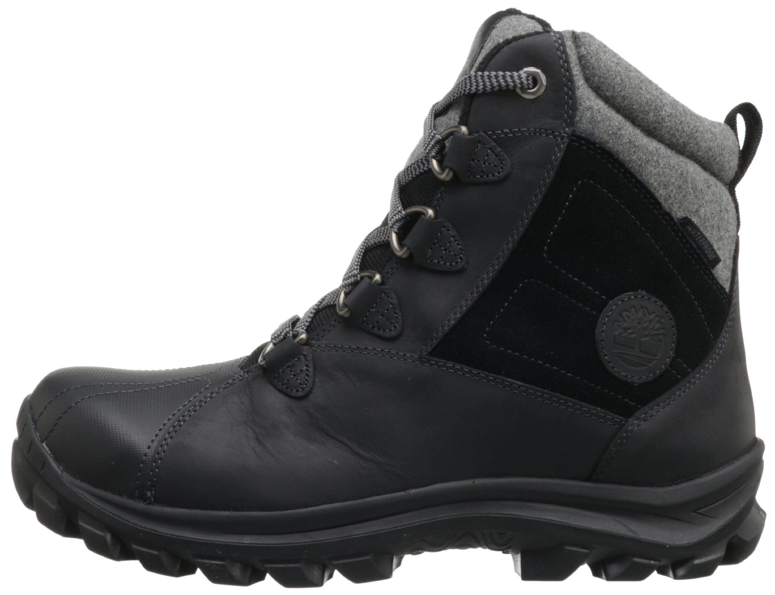 Timberland Mens Chillberg Mid Waterproof BootBlack7.5 M US * Find out more  about the great product at the image link. (This is an affiliate link)