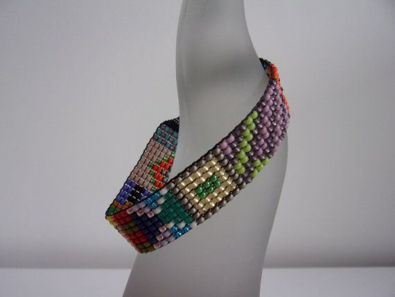 Mayzz 4 Handgeweven kralen armbandje loom beaded bracelet