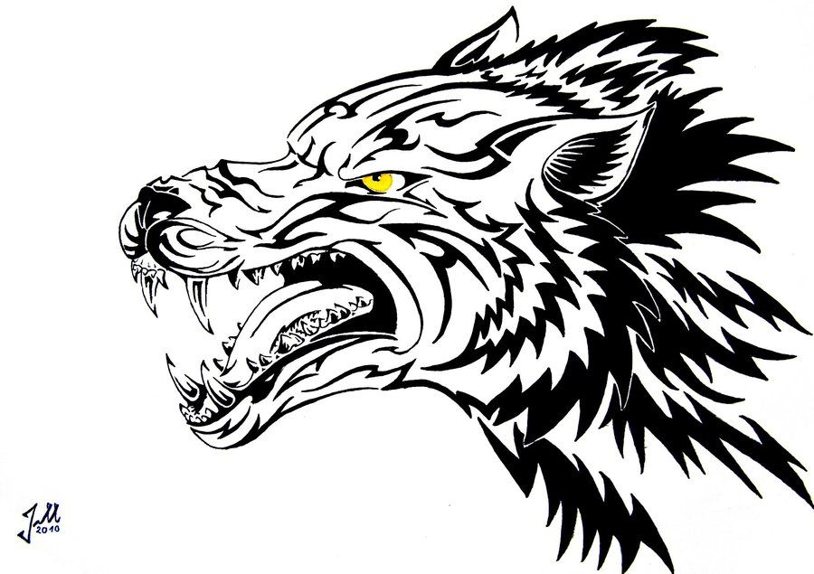 Lineart Wolf Tattoo : Hot tattoo on women: 30 bewitching sister tattoos ideas designs