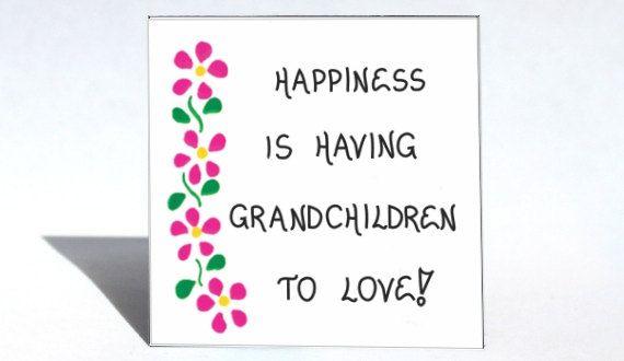 Quote about Grandchildren - Grandma Gift