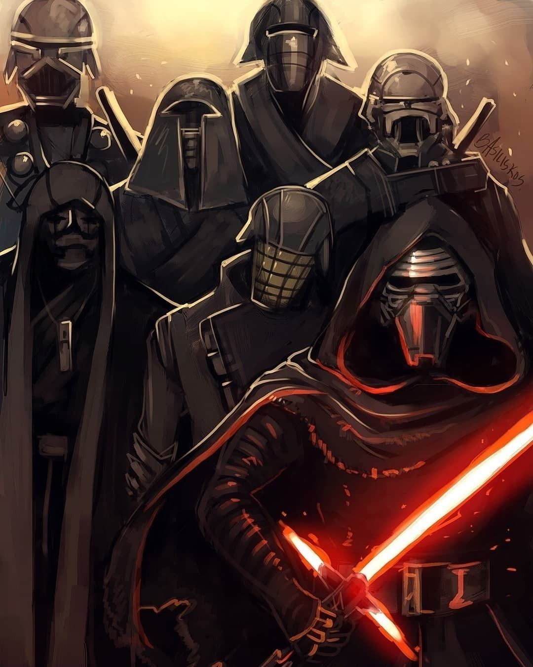 Will We See The Knights Of Ren In Episode 9 Art By