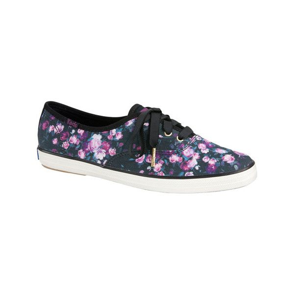 f6df5d6b078 Women s Keds Champion Frost Floral Lace Up Sneaker - Black Twill... ( 55