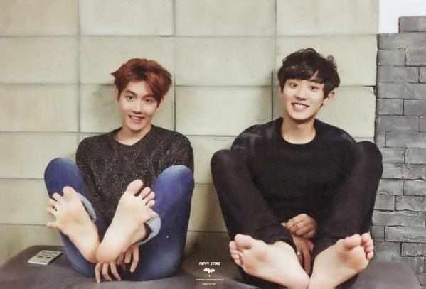 EXO 2015 Season's Greetings #Chanyeol #Baekhyun ♡