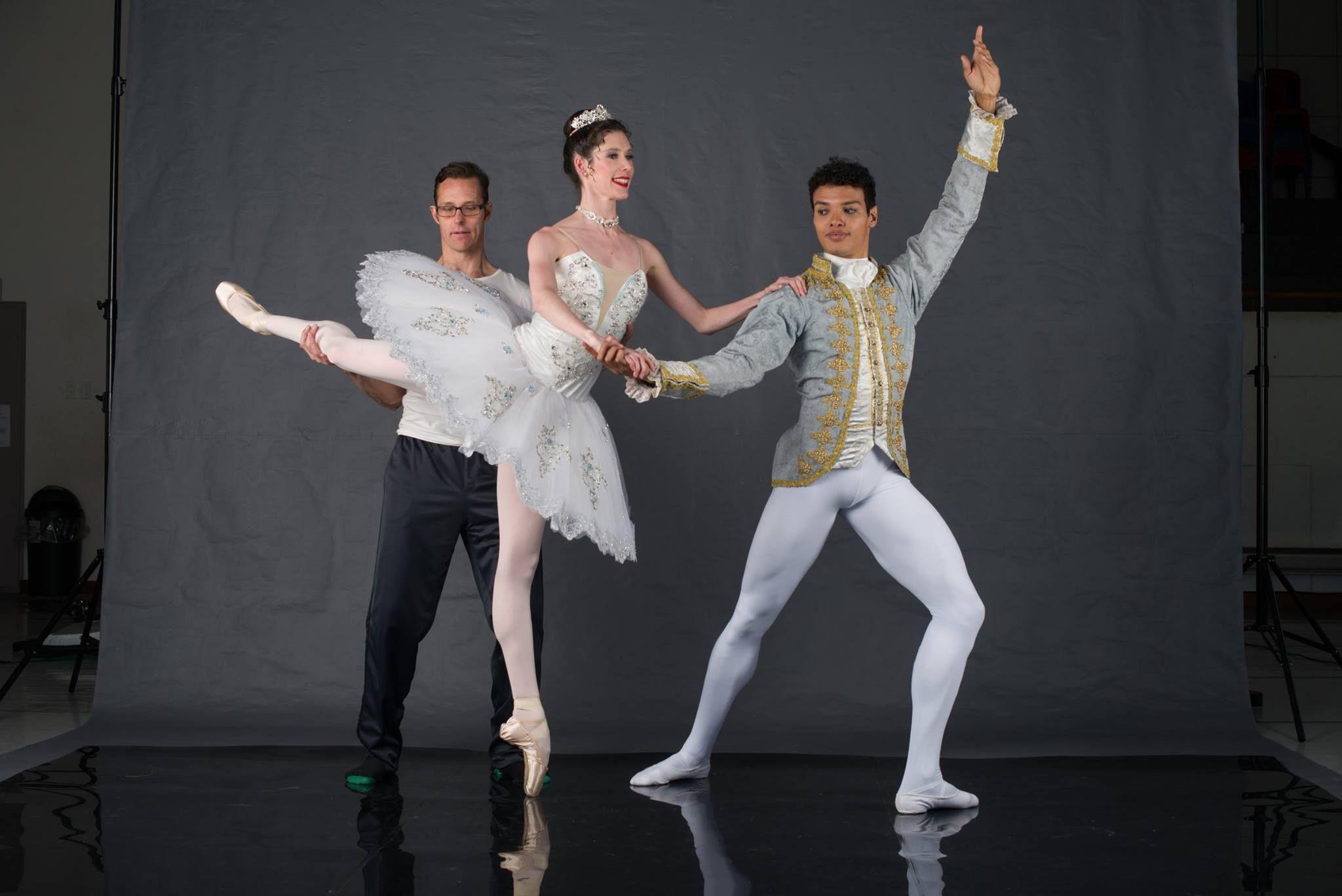 e3eabf53bef Joburg Ballet artistic director Iain MacDonald with Nicole Ferreira-Dill as Snow  White and Leusson Muniz as the Royal Huntsman.
