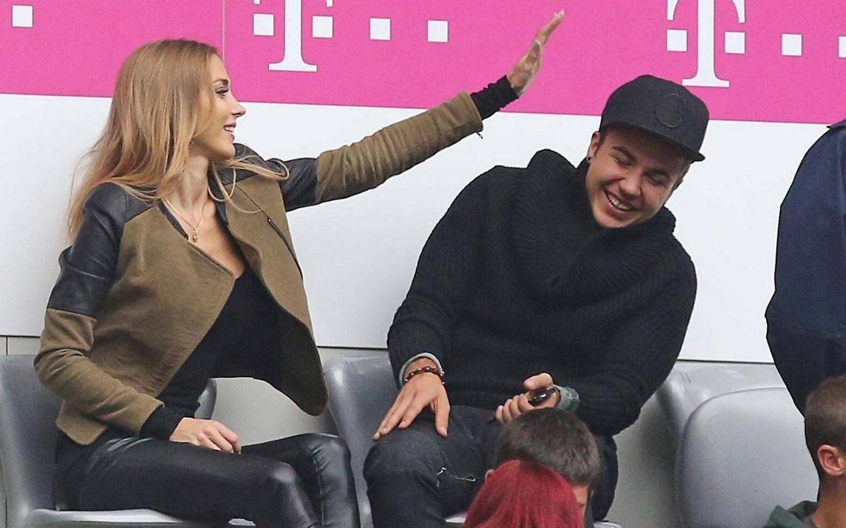 Ann-Kathrin Brommel & Mario Götze | Bayern munich, Mario
