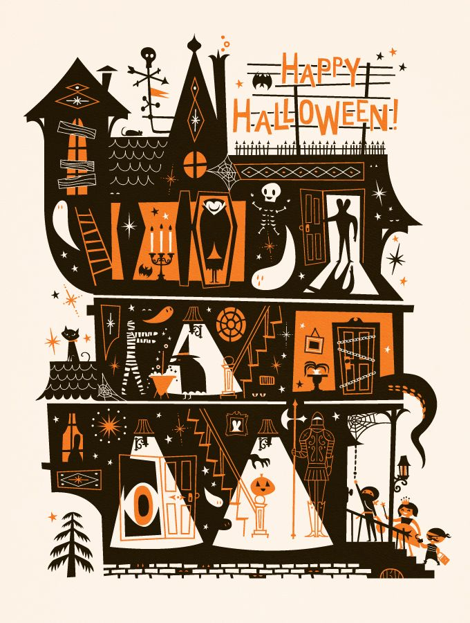 happy halloween from the lab partners - Halloween Prints