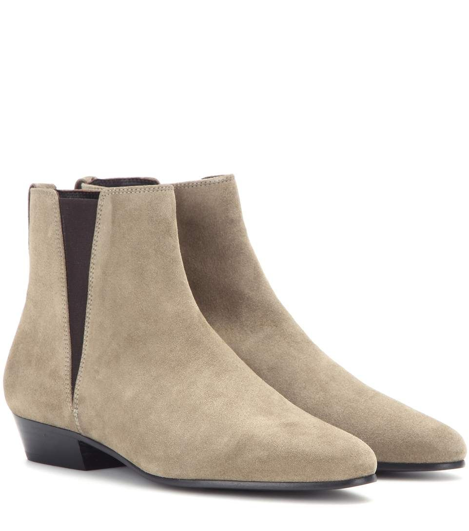 4b7113b0 ISABEL MARANT Étoile Patsha Suede Boots. #isabelmarant #shoes #boots ...
