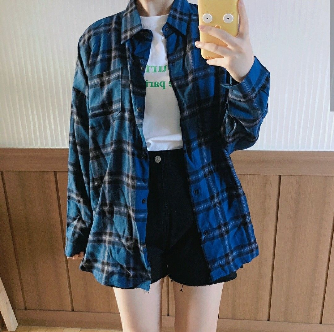 Pin By Little Bit On Outfits Women S Plaid Shirt Womens Plaid Outfits