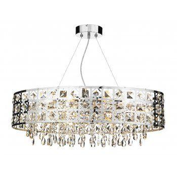 Oval chandelier above kitchen island | New home plans | Pinterest ...