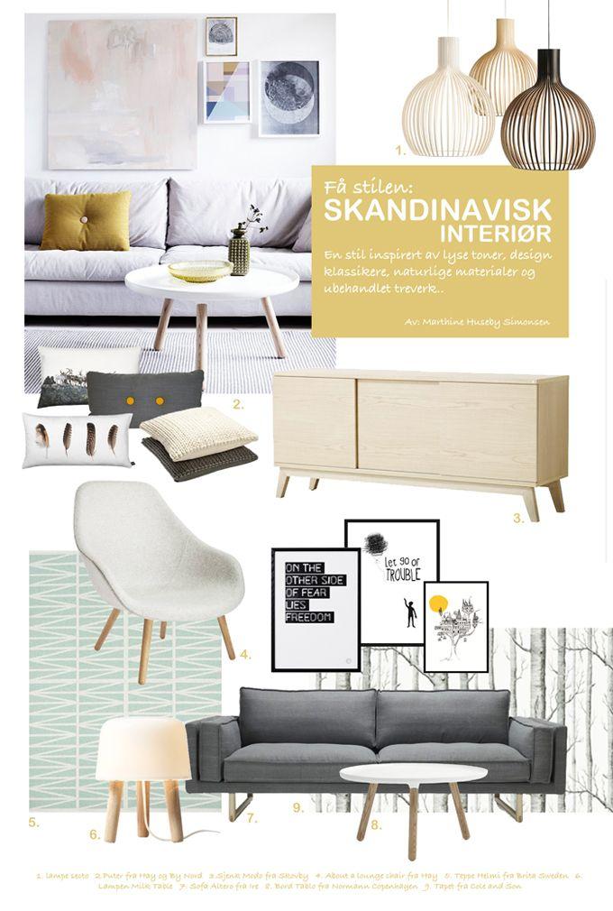 Egenes f stilen skandinavisk design inspiration for Scandinavian interior design inspiration