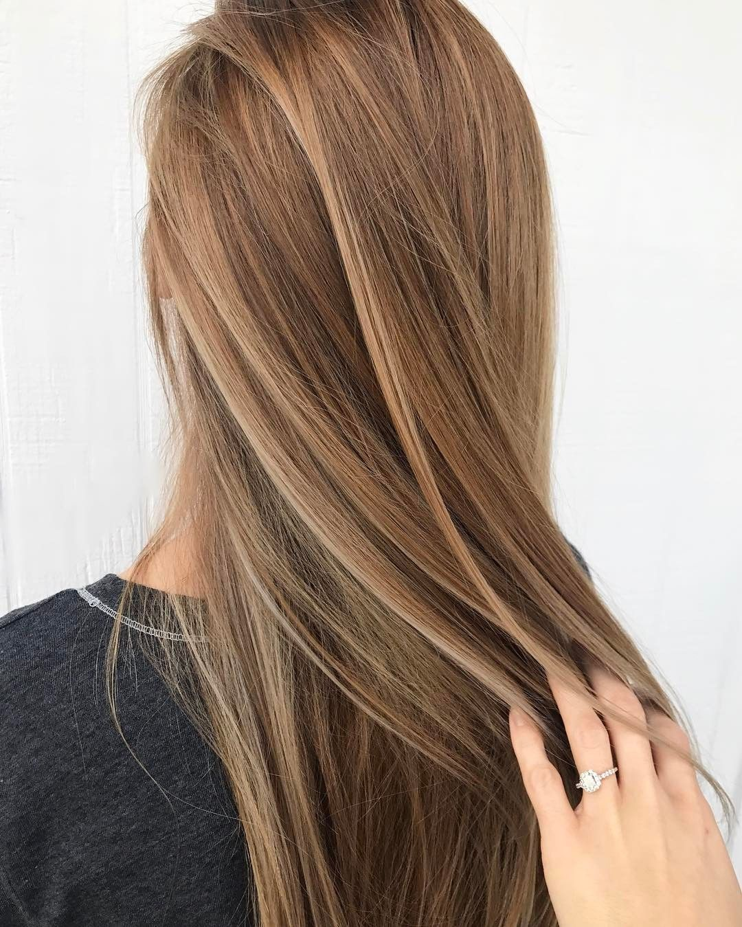 blonde and brown hair color ideas for summer dark blonde