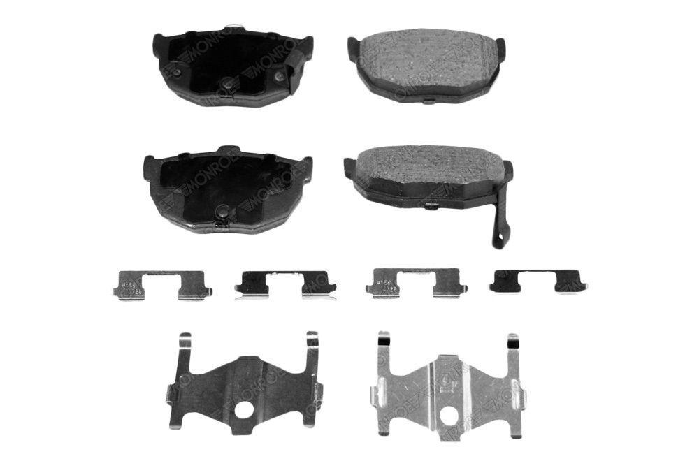 Monroe Prosolution Ceramic Rear Brake Pads Hyundai Elantra Tiburon Kia Spectra Hyundai Elantra Elantra Hyundai