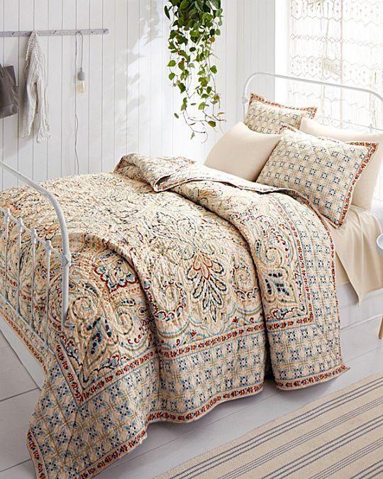 Umbria Paisley Quilt And Sham Home Decor Comfy Bed