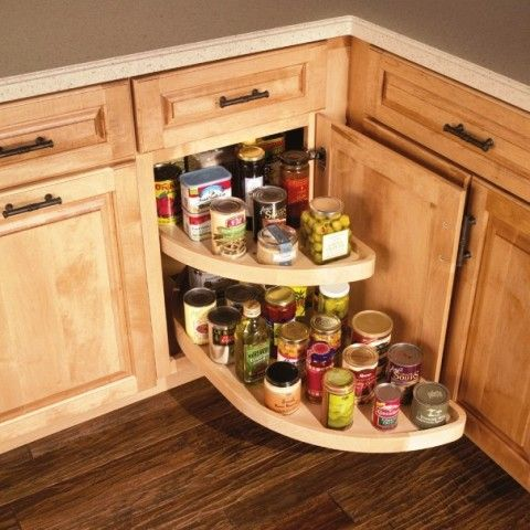 corner kitchen cabinet with lamaze - Corner Kitchen Cabinet Storage Ideas