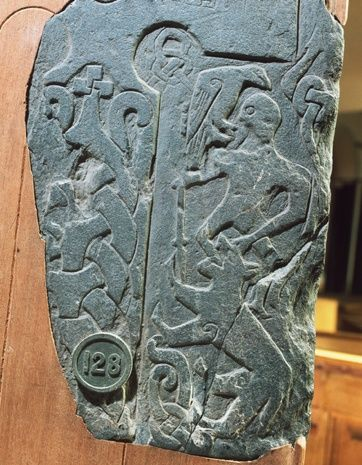 Panel from the Viking Thorwald Cross