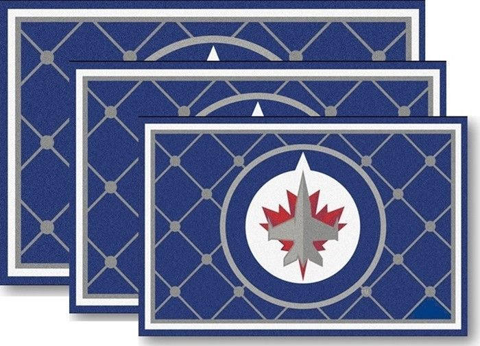 Use The Code Pinfive To Receive An Additional 5 Off Price Of Winnipeg Jets Nhl Area Rugs At Sportsfansplus Pinterest Hockey Rules