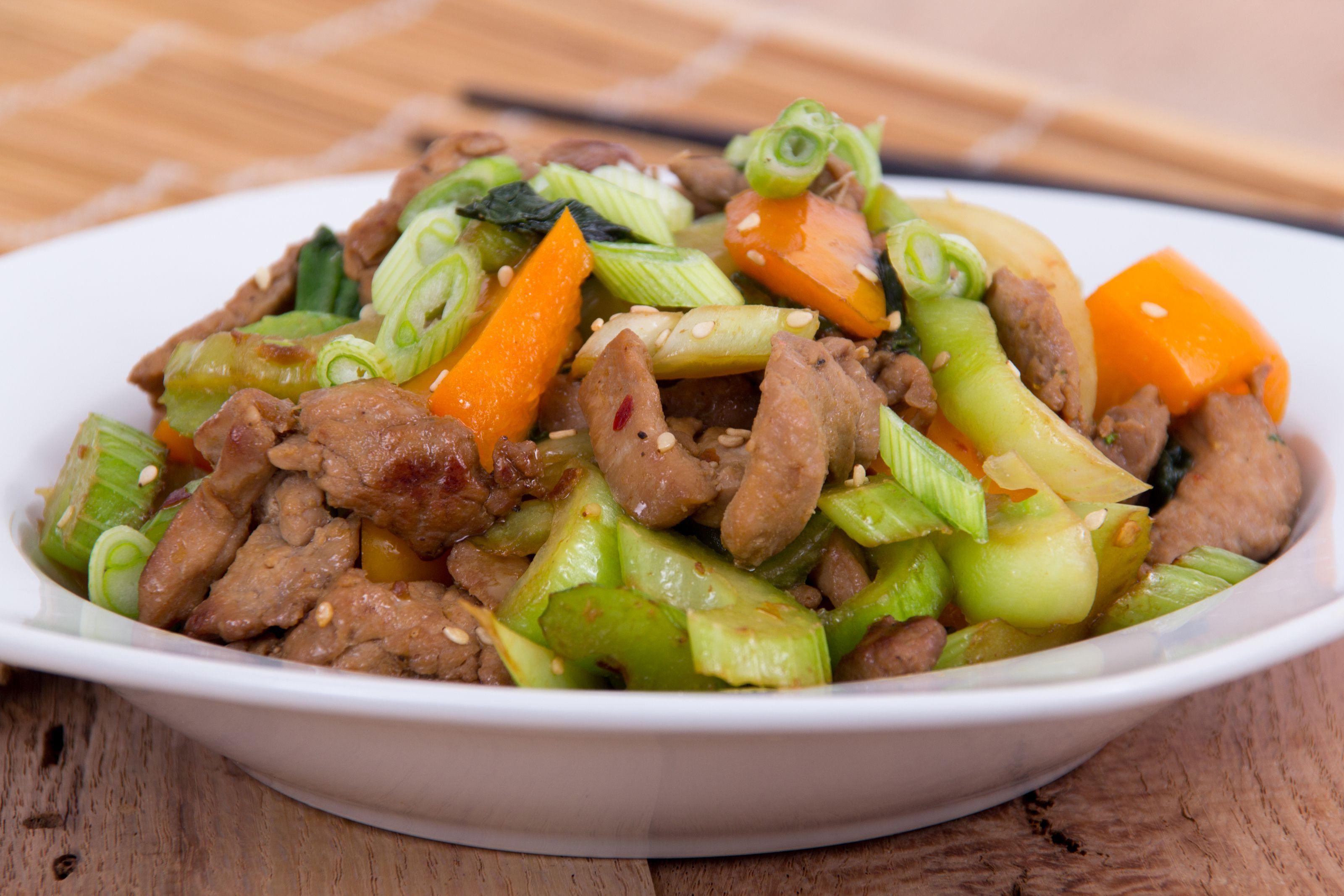 Beef And Celery Stir Fry With Fresh Garlic Recipe Recipe In 2021 Fresh Garlic Recipes Garlic Recipes Pork Chop Suey
