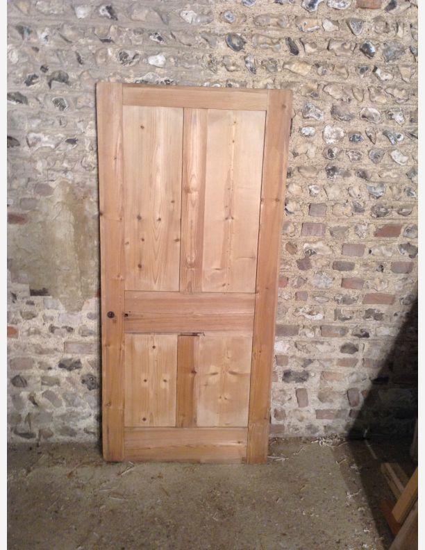 652 - 4 panel shaker stripped pine door & 652 - 4 panel shaker stripped pine door | Historic doors | Pinterest ...
