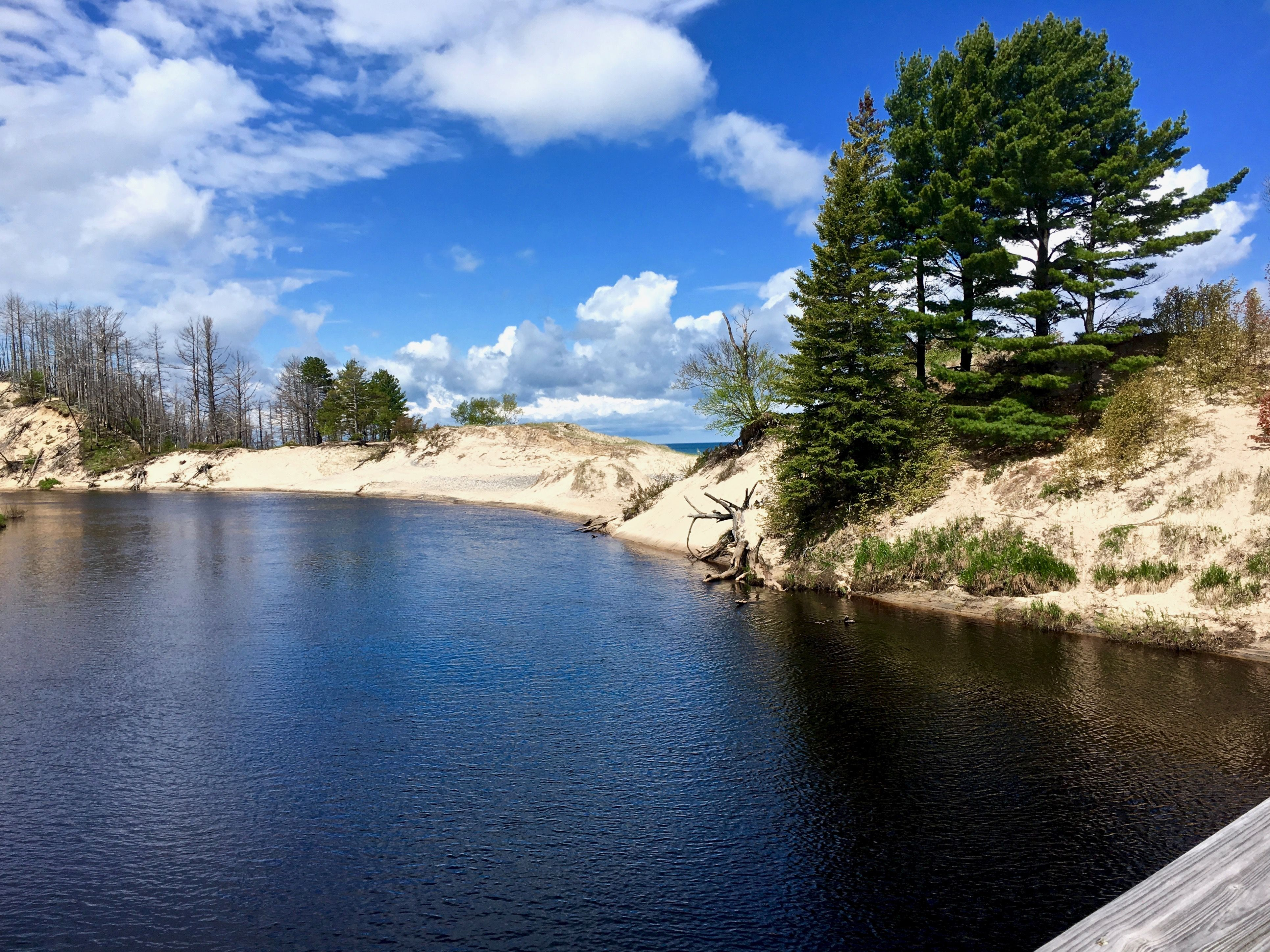 NCT in Michigan's Upper Peninsula  Near Two-Hearted River