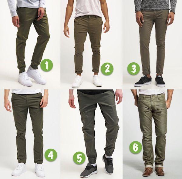 Tendance mode 2016 : le vert olive | Pantalon